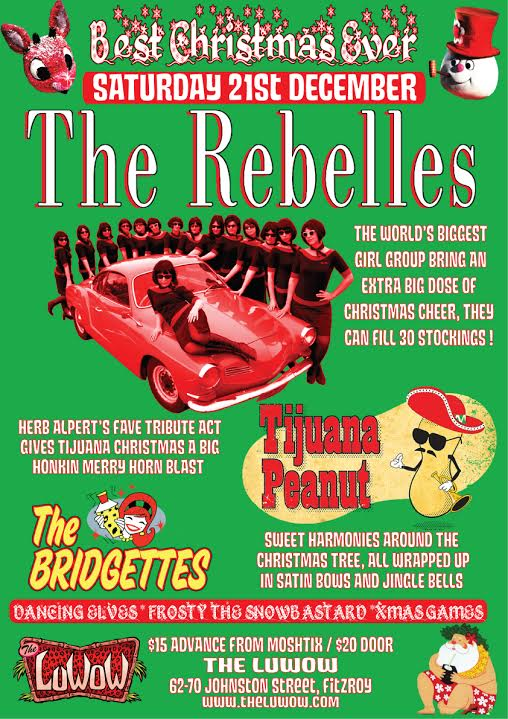 Best Christmas Show Ever! Saturday December 21 @ the LuWOW